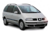 Car Rental in Madeira -  Book a SEAT ALHAMBRA TDI with Funchal Car Hire
