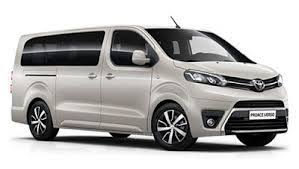 Funchal car Hire - Book here - TOYOTA HIACE 9 SEATS